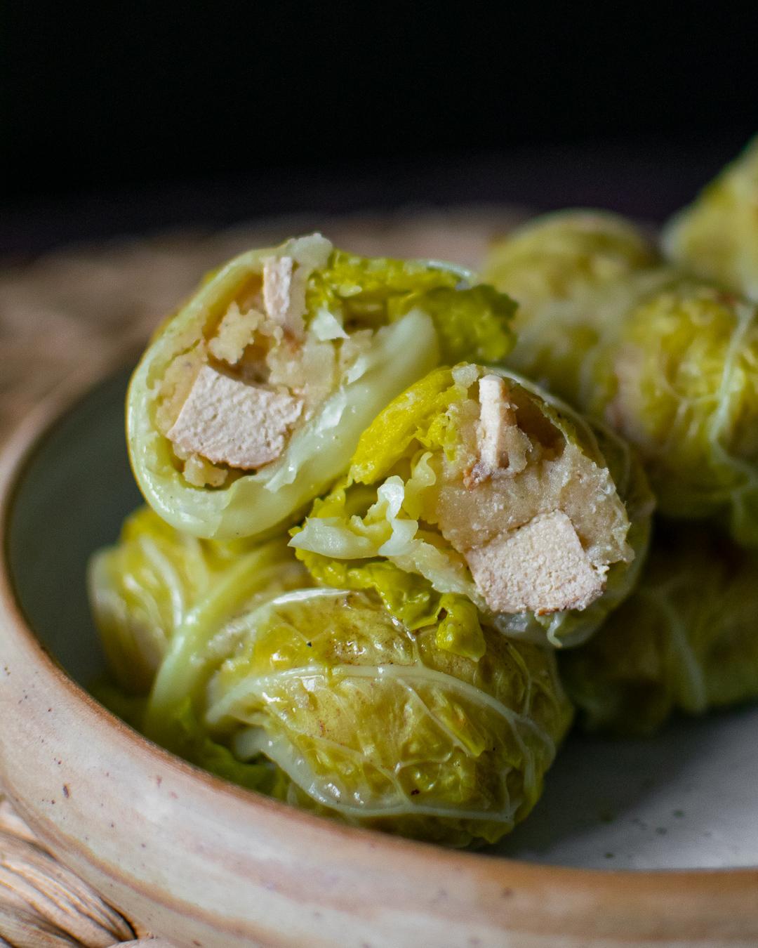 INVOLTINI DI VERZA VEG. in collaborazione con la food-blogger Lucia di @leprelibatudini.